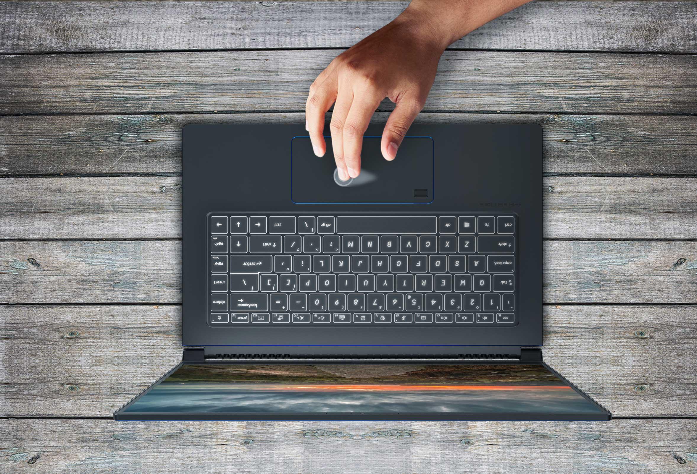 Laptop ultraportabil MSI Modern 14 B10RBSW