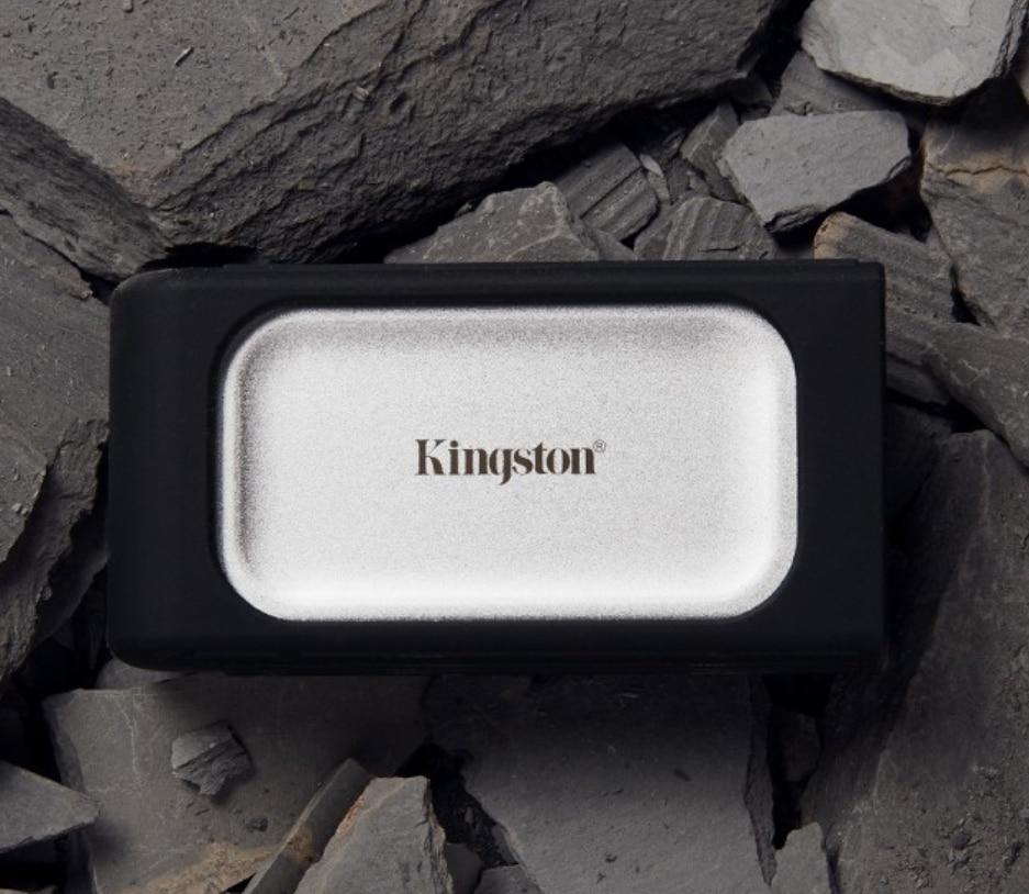 SSD extern portabil Kingston XS2000, 1TB, USB 3.2, Portabilitate de buzunar