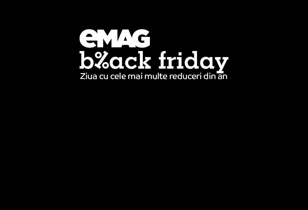 eMag Black Friday - Ziua cu cele mai multe reduceri din an
