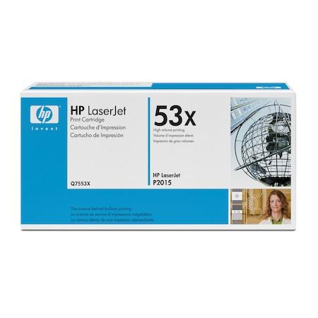 Тонер HP Q7553X Черен