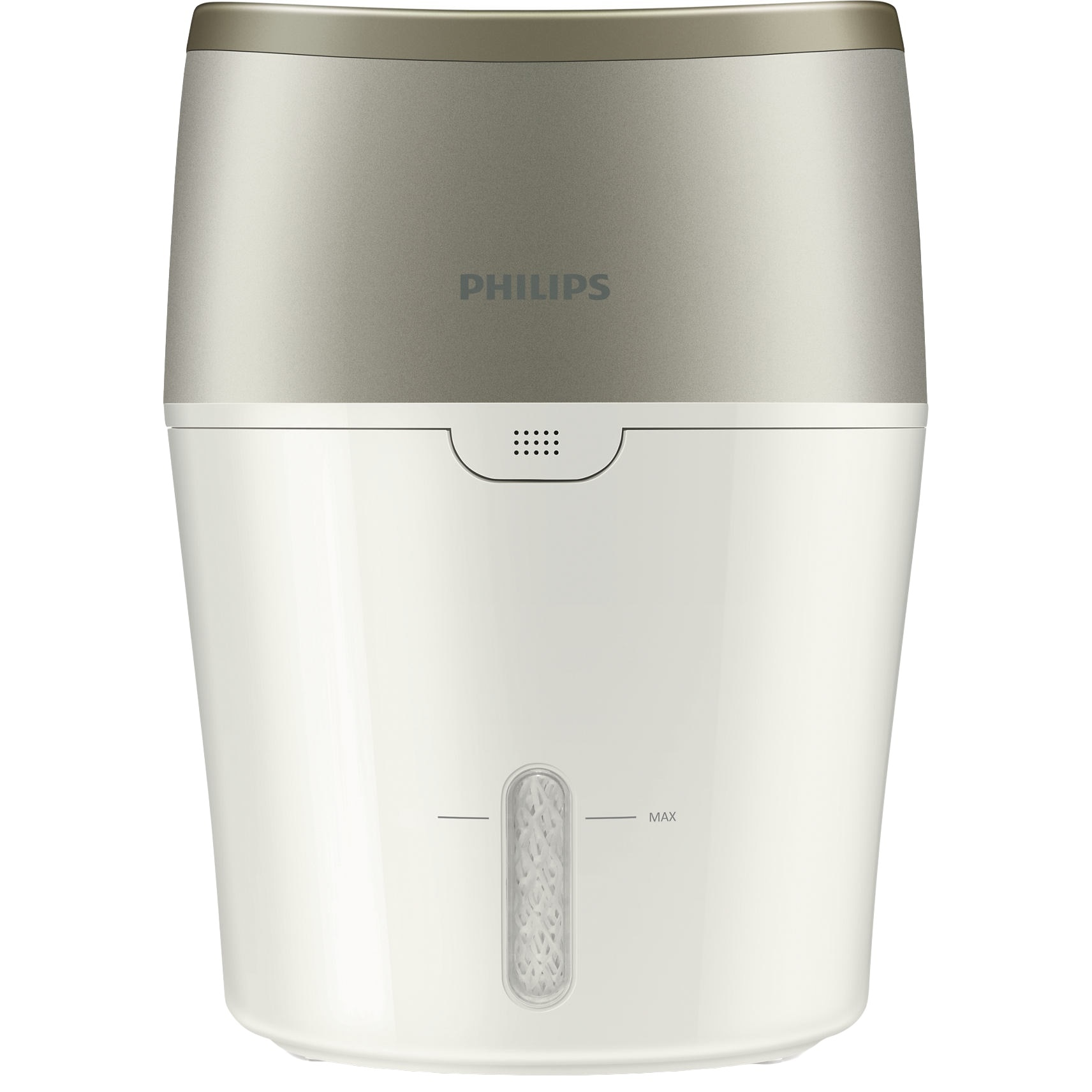 Fotografie Umidificator de aer Philips HU4803/01, Tehnologie NanoCloud, Rezervor 2 l, 220 ml/h, Alb/Gri