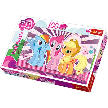 Puzzle Trefl - Friends My Little Pony, 100 piese (16228)