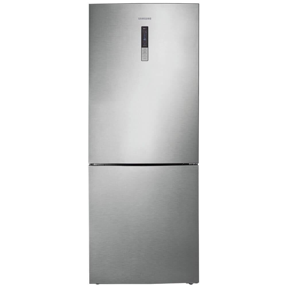 Fotografie Combina frigorifica Samsung RL4353RBASL/EO, 435 l, Clasa F, Full No Frost, Compresor Digital Inverter, Afisaj extern, H 185 cm, Inox