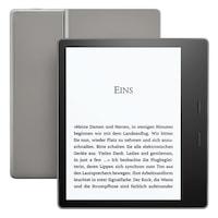 Електронен четец Kindle Oasis e-Reader, водоустойчив, 7 инчов дисплей, 300 ppi, Audible, 32 GB