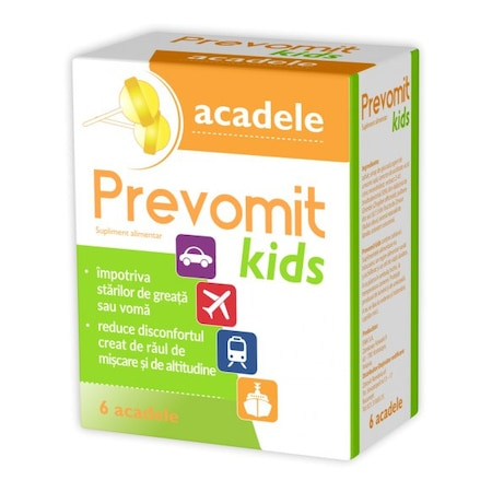 Acadele Akadika Emetix, Fiterman Pharma, 7 buc
