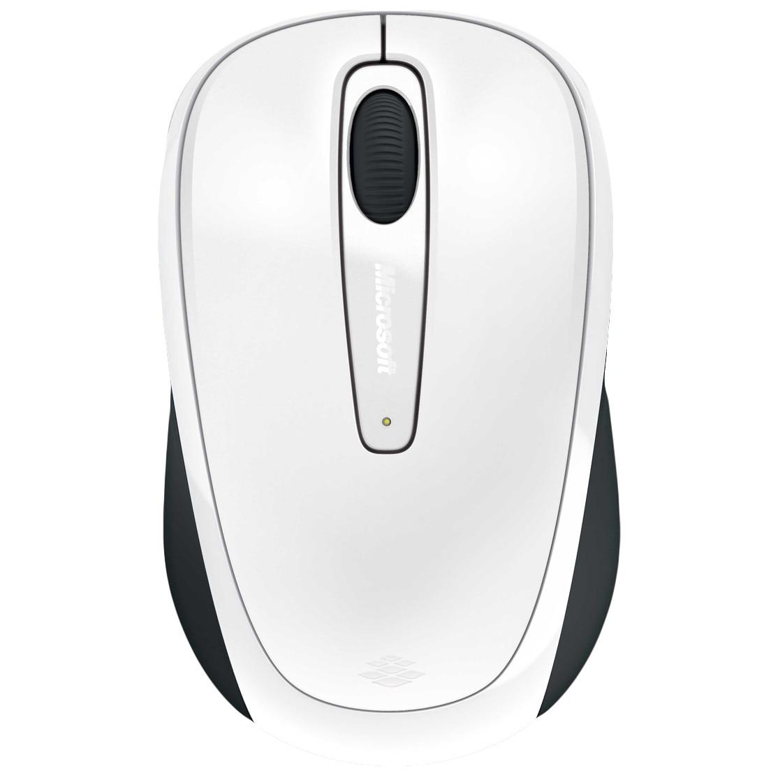 Fotografie Mouse Microsoft Mobile 3500, Wireless, Alb Glossy