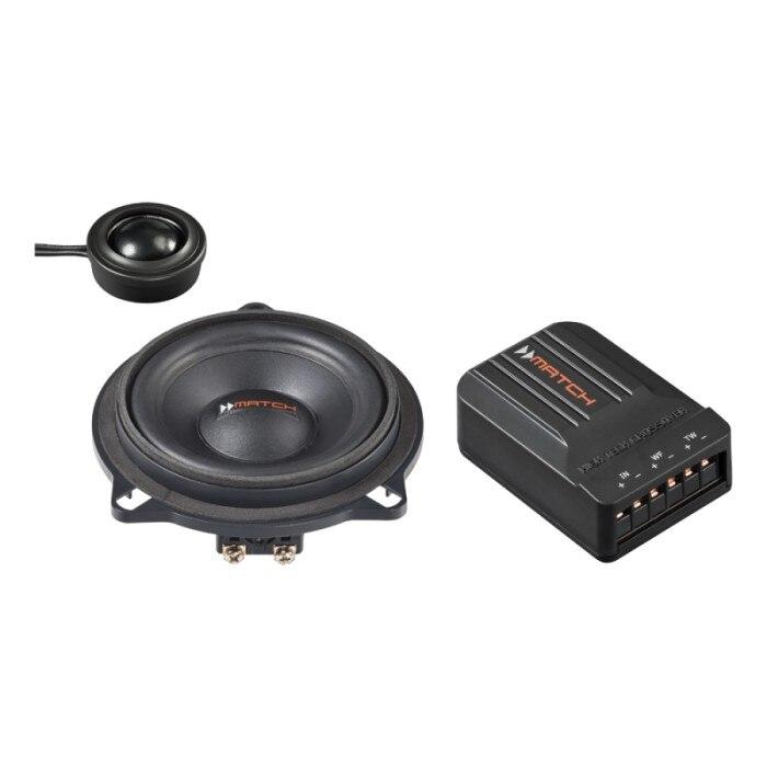 Fotografie Set sistem difuzoare auto component Match, dedicate BMW MS 42C-BMW.1, compatibile cu Seria 1 E, Seria 3 E, Seria 5 E/F, Seria 7, X1