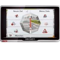 Becker Active 6 LMU Plus (szoftver nélkül) GPS Navigáció