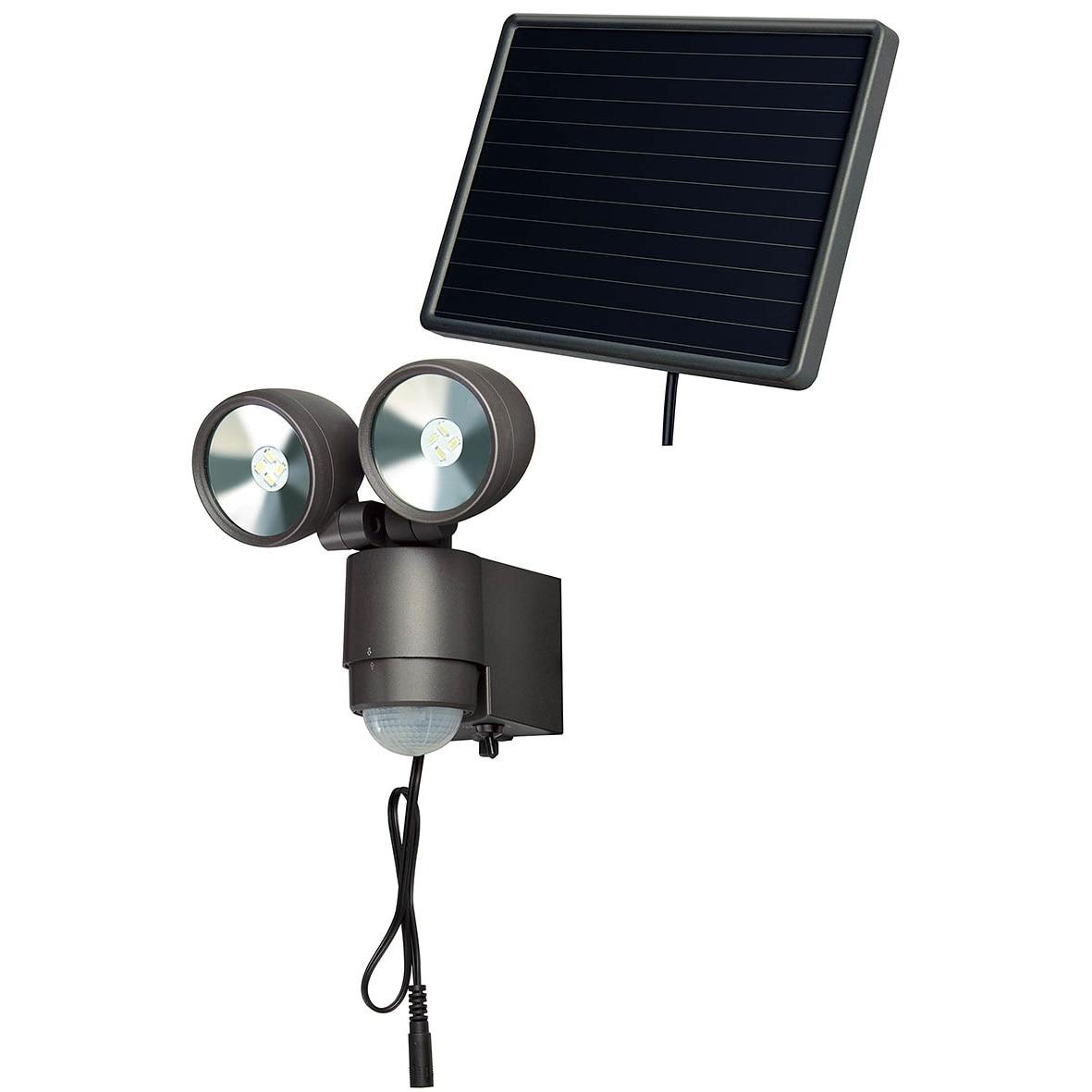 Lampa solarna woltaiczna słoneczna led niemiecka naświetlacz LED solarny z czujką ruchu