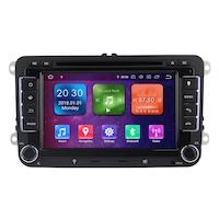 Мултимедия с навигация ZT, за Skoda, Seat, Volkswagen, Vw, Passat, Golf, Rns 510, Android 10.1, 4+2+16