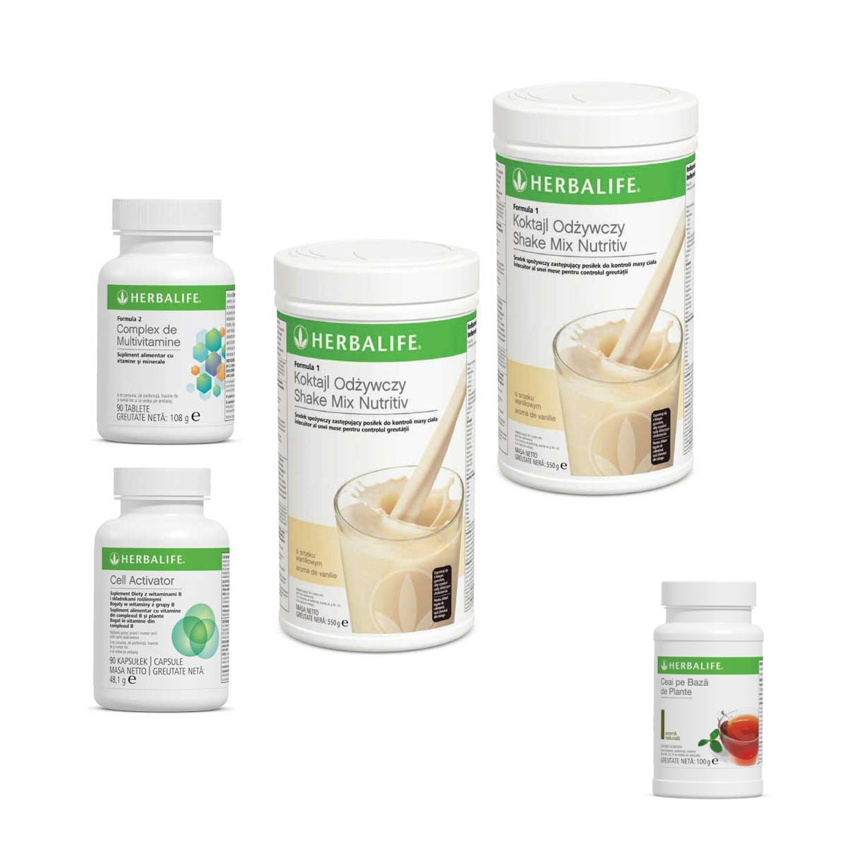 Herbalife – Pachet Avansat pentru Slabire – HerbaFit
