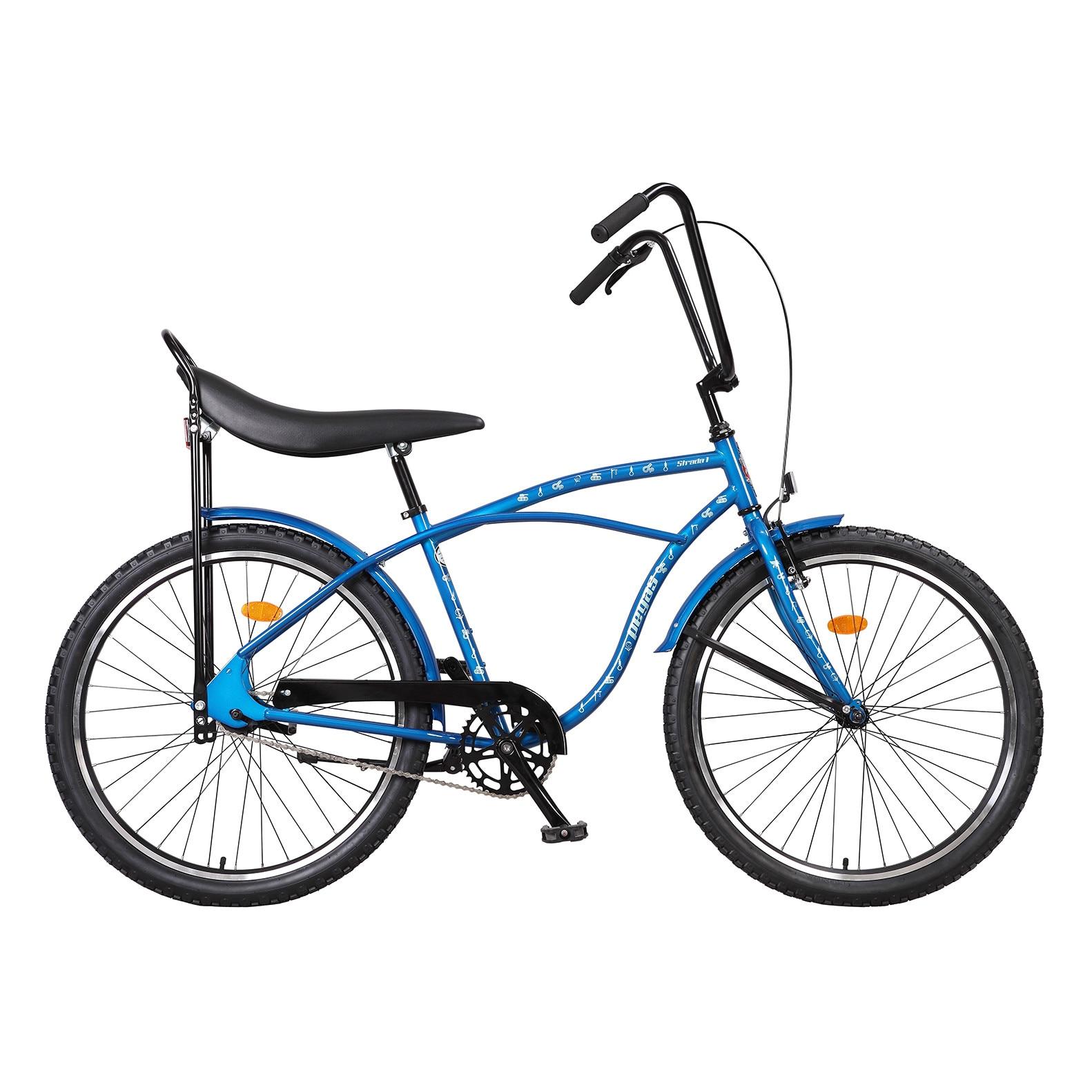 Fotografie Bicicleta Pegas Strada 1 Otel 2s, Albastru Franghii