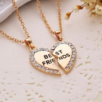 Best Friends páros nyaklánc (arany színű)