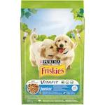 Храна за малки кученца PURINA® FRISKIES Junior , Пиле, Мляко, Зеленчуци, 8kg