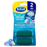 Scholl Velvet Smooth normál érdességű forgófejek tengeri ásványokkal 2 db