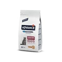 Суха храна за кастрирани котки в напреднала възраст Advance 1.5кг