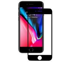 Защитно фолио Tempered Glass 3D за iPhone 8 / iPhone 7, Черен