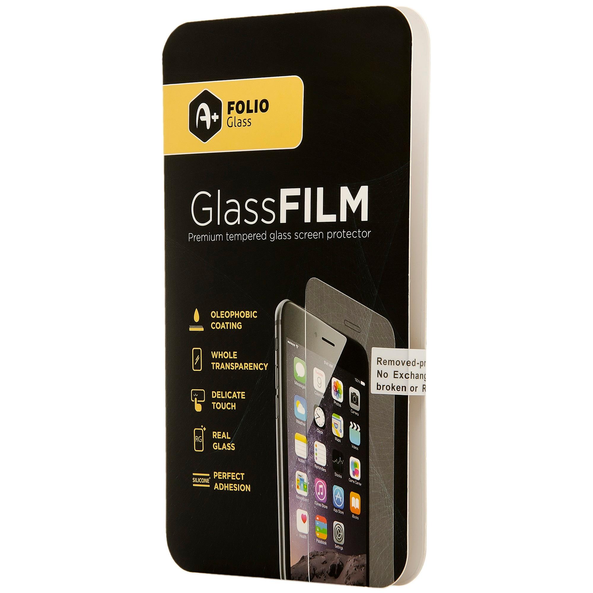 Fotografie Folie de protectie A+ Tempered Glass 2.5D pentru iPhone 12 Pro Max