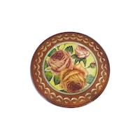 Декоративна чиния с декупаж 22 Орешак