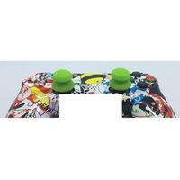 Kontroller joystick gomb emelő - szilikon -neon zöld