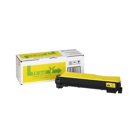Тонер касета Kyocera TK-560Y, жълта