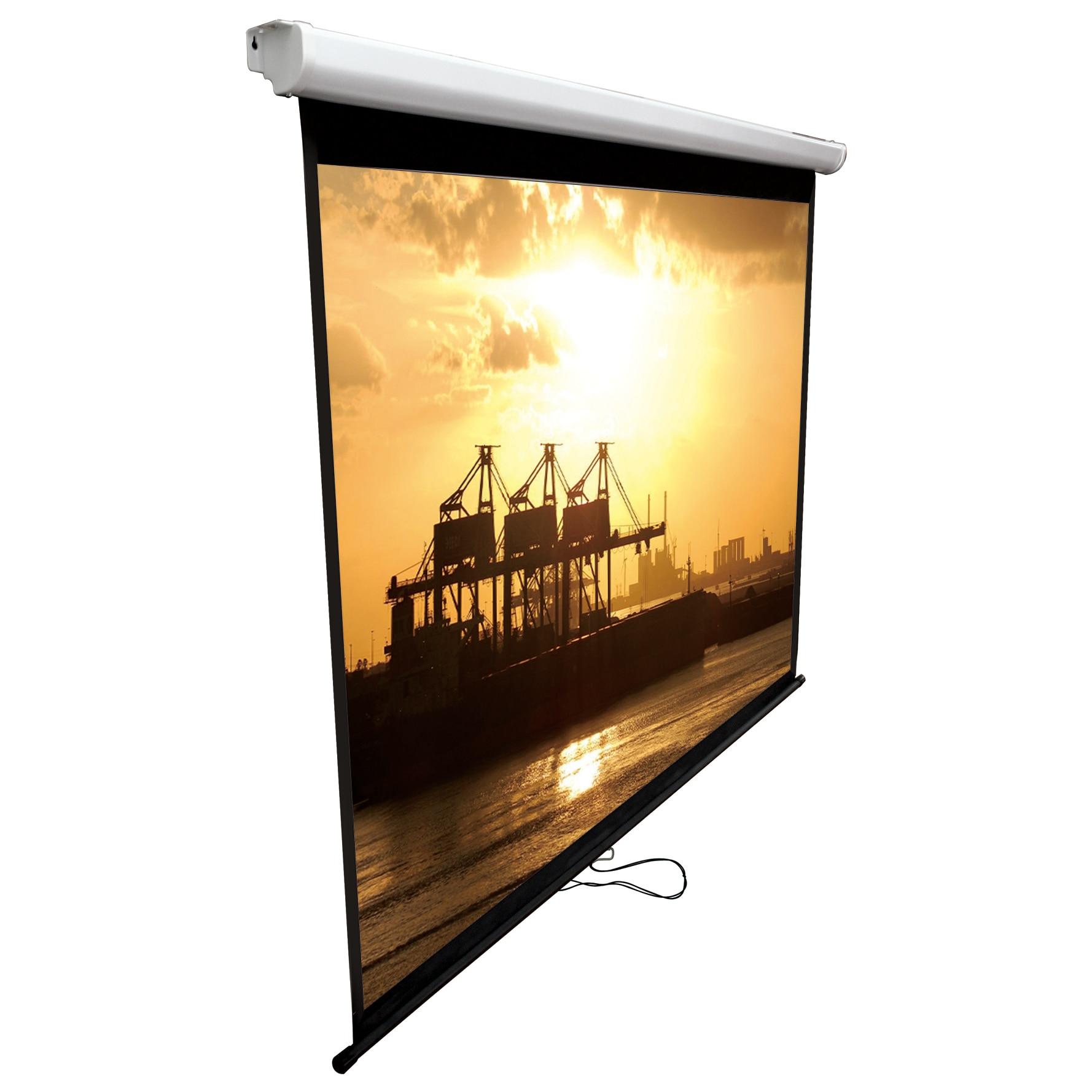 Fotografie Ecran de proiectie manual A+ Screen WS1-180, 180cm x 180cm