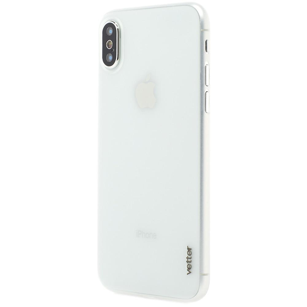 Fotografie Husa de protectie Vetter pentru Apple iPhone x, Clip-On, Ultra Thin Air Series, Transparent