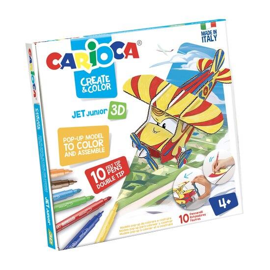 Fotografie Set creativ Carioca, Create & Color, Jet Junior 3D