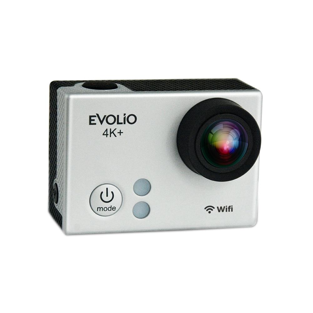 Fotografie Camera video sport Evolio iSmart 4K Plus, Wi-Fi, Telecomanda, Gri