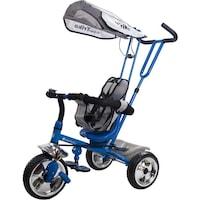 Sun Baby Super Trike szülőkormányos tricikli, kék