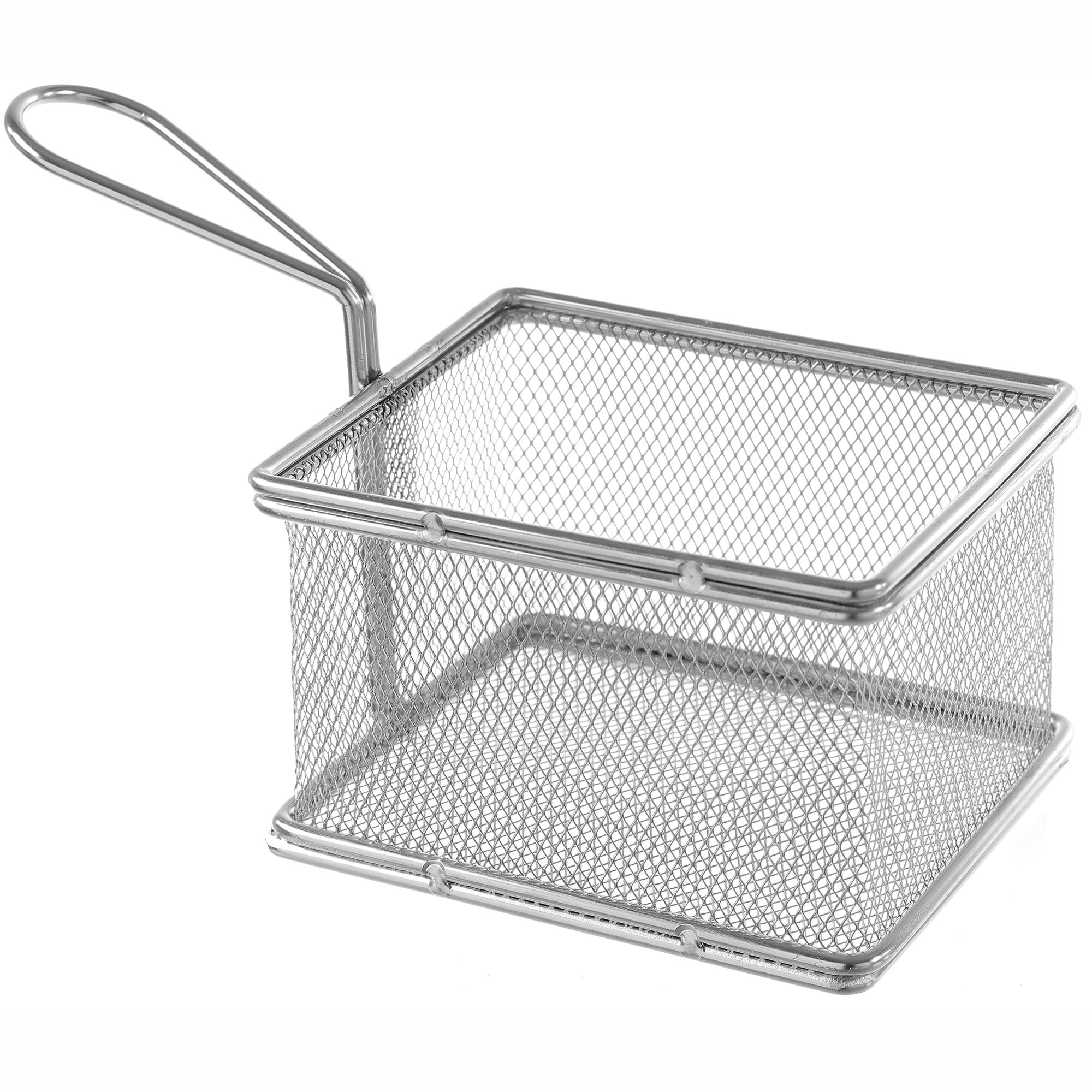 Fotografie Cos servire Mini-fry pentru cartofi prajiti, Hendi, otel inoxidabil, 12x10x(H)8 cm