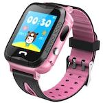 Ceas smartwatch copii iUni Kid6, Telefon incorporat, GPS, Bluetooth, Roz
