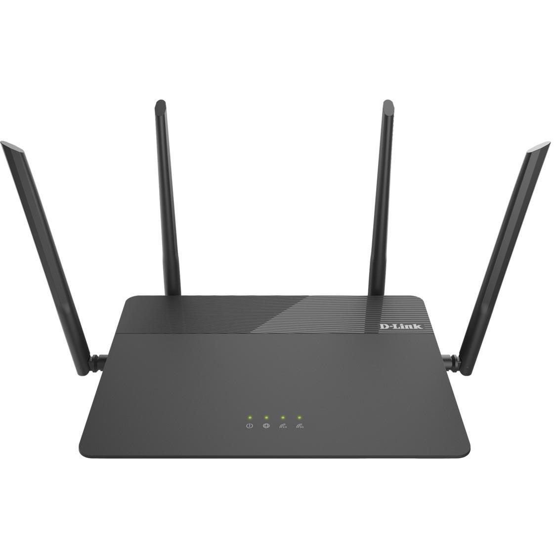 Fotografie Router D-Link DIR-878, 4 port-uri wireless AC1900, Dual-Band, Gigabit