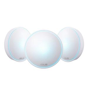 Sistem WiFi mesh Asus Lyra Mini, dual-band AC1300, acoperire completa, Asus RouterApp, pachet cu trei noduri