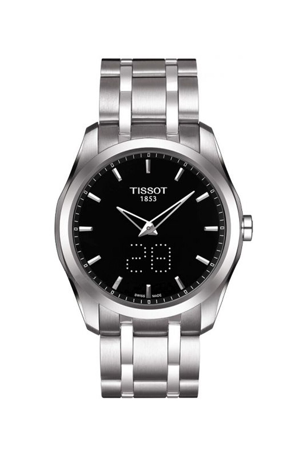 Fotografie Tissot, Ceas din otel inoxidabil cu mecanism quartz T-Trend Couturier, Argintiu