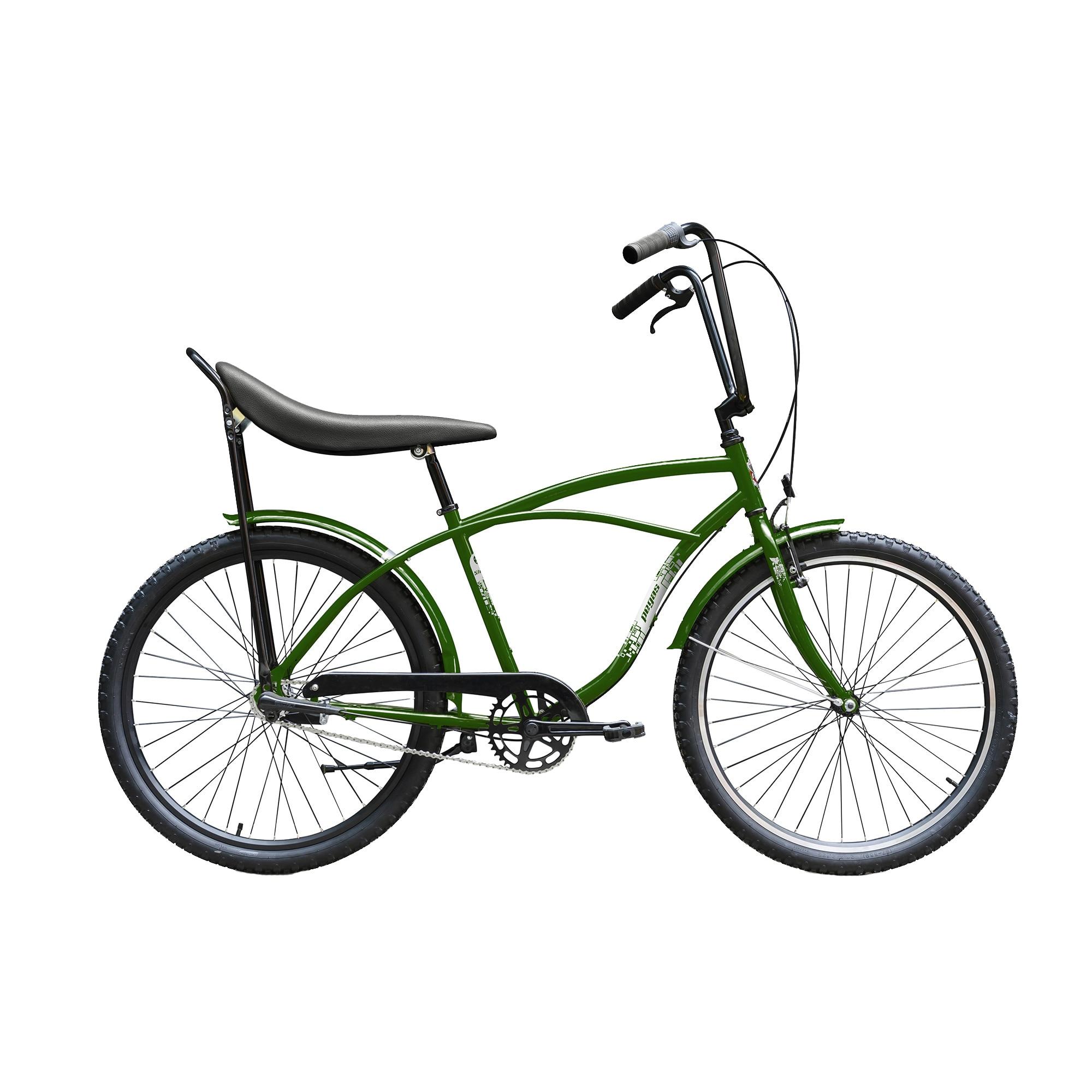 Fotografie Bicicleta Pegas Strada 1 Otel 3s, Verde Natura