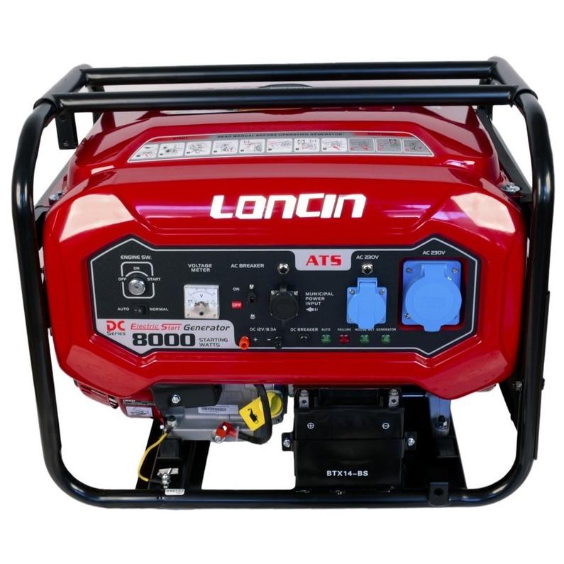Fotografie Generator curent electric Loncin cu automatizare, 7000W, 220V, benzina