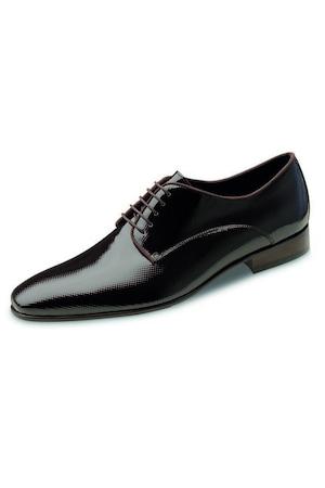 Wilvorst elegáns, barna-mintás férfi bőrcipő 42 EU