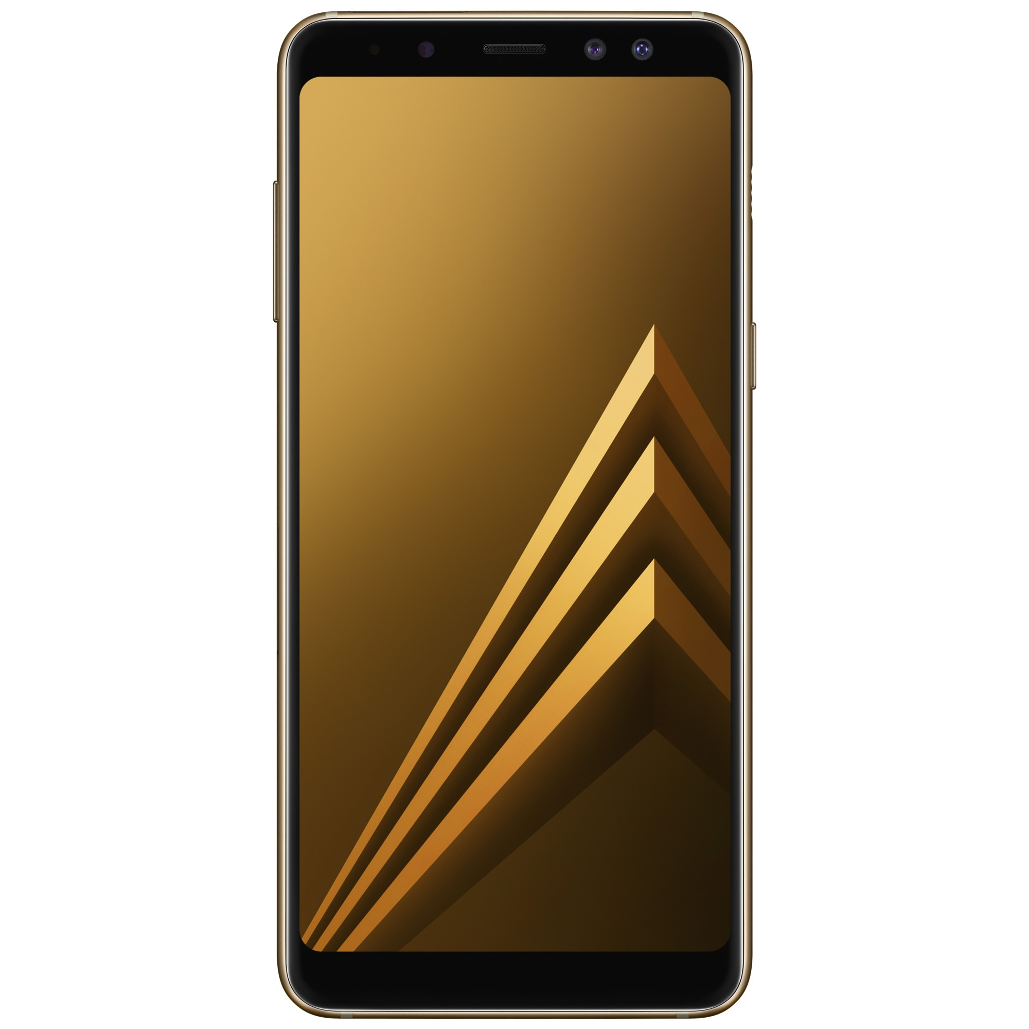 Fotografie Telefon mobil Samsung Galaxy A8 (2018), Dual SIM, 32GB, 4G, Gold