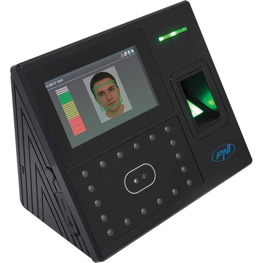 Fotografie Sistem de pontaj biometric PNI Face 500, cititor de amprenta, recunoastere faciala