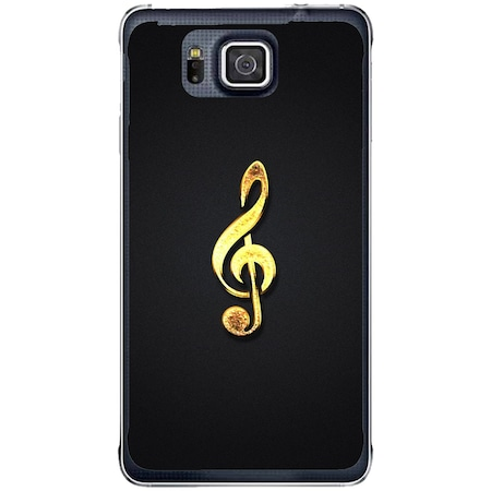 Защитен калъф Guardo Golden Music за Samsung Galaxy Alpha G850