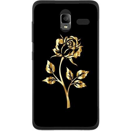 Защитен калъф Guardo Golden Rose за Lenovo A850