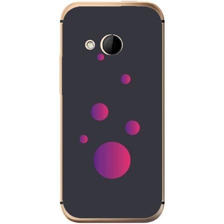 Защитен калъф Guardo Purple Bubbles за HTC One Mini 2