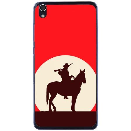 Защитен калъф Guardo Red Cowboy за Lenovo S850