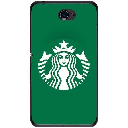 Защитен калъф Guardo Green Starbucks за Sony Xperia E4 E2104 5