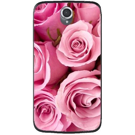 Защитен калъф Guardo Pink Roses за Lenovo A859