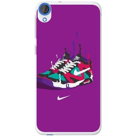 Защитен калъф Guardo Purple Nikes за HTC Desire 820