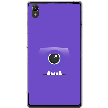 Защитен калъф Guardo Purple Monster за Sony Xperia Z1 C6902 L39h