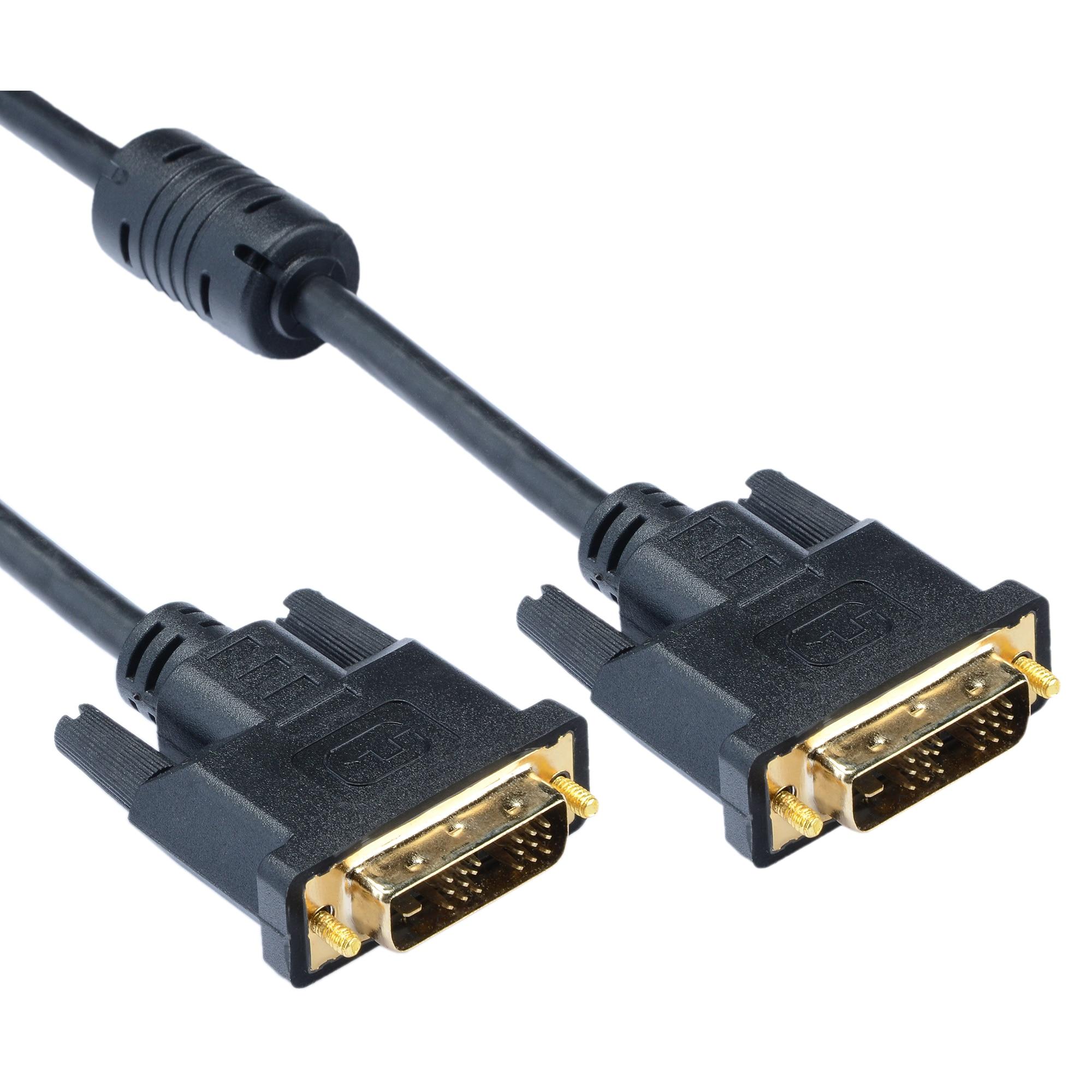 Fotografie Cablu A+ DVI-DVI, 1.8m, Negru