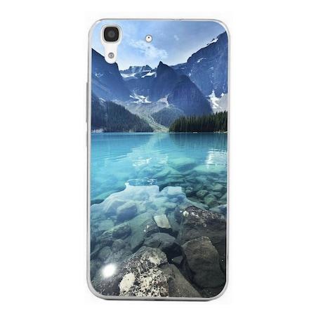 Blue Crystal Lake HUAWEI Ascend Y6 Ii szilikon tok